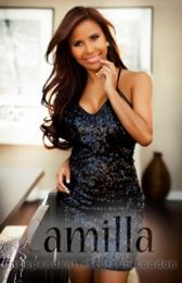 Camilla Brunette London Escort in Westminster